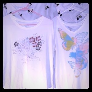 Lot of Two Sonoma graphic tees in sz XXL.